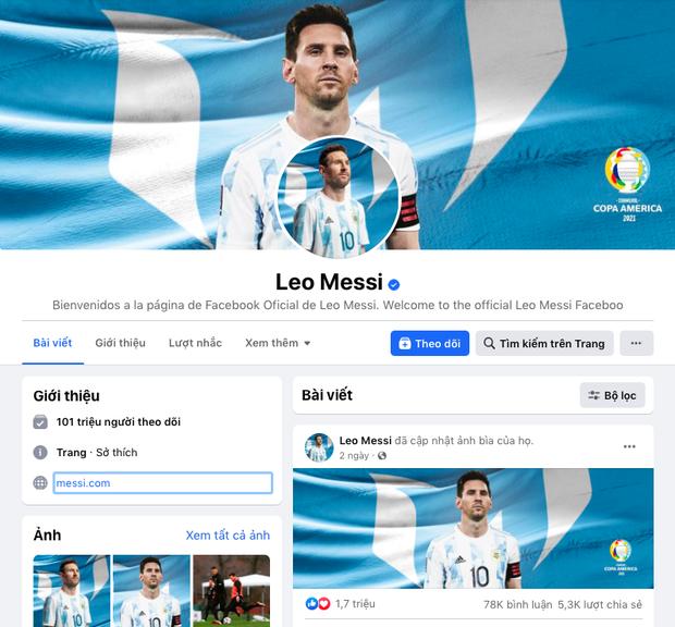Messi chính thức vượt mặt cựu Tổng thống Obama, xác lập kỷ lục Guinness mới trên Facebook sau hơn 9 năm - Ảnh 1.