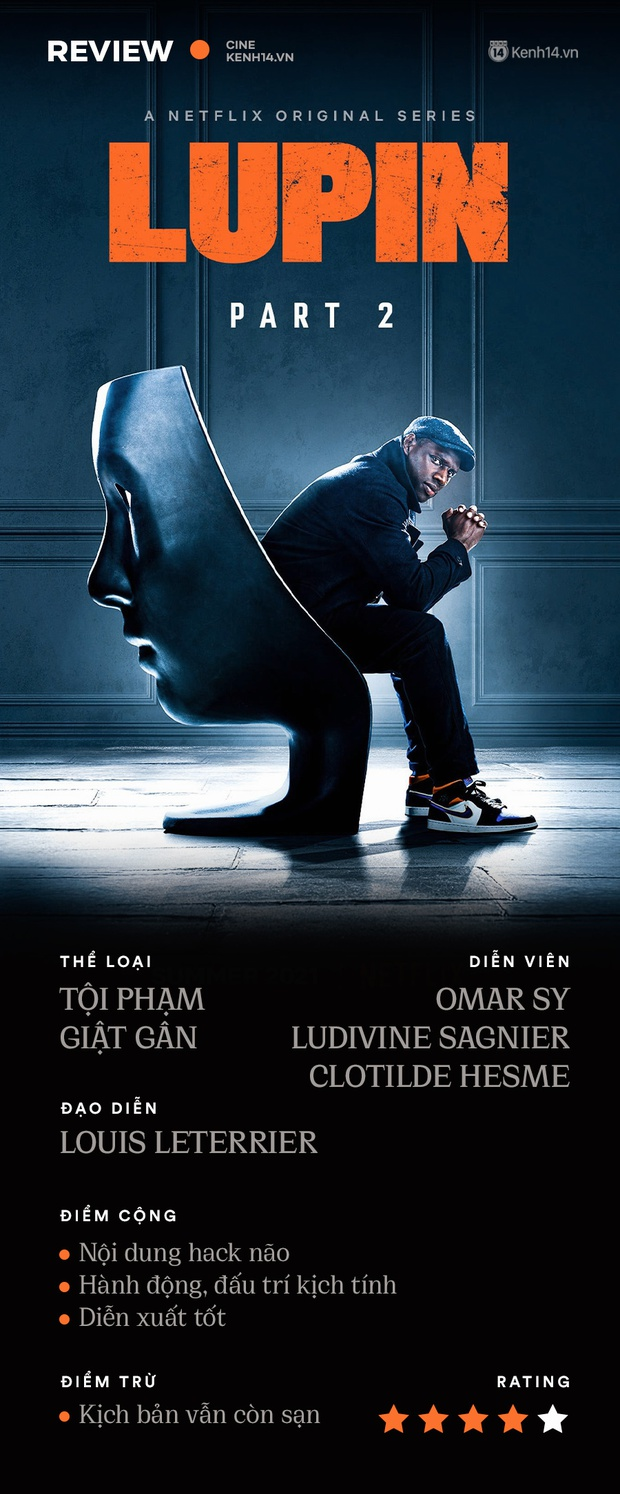 Lupin 2: Nâng tầm siêu đạo chích bằng kịch bản hack não, lật mặt còn nhanh hơn người yêu cũ - Ảnh 14.