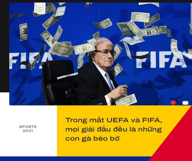 Sự cố Eriksen phơi bày bản chất đê tiện của UEFA - Ảnh 3.