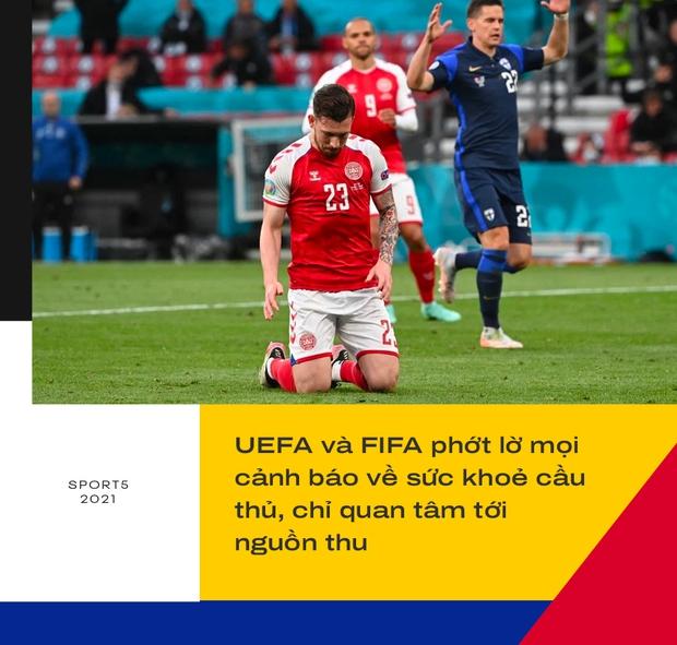 Sự cố Eriksen phơi bày bản chất đê tiện của UEFA - Ảnh 7.