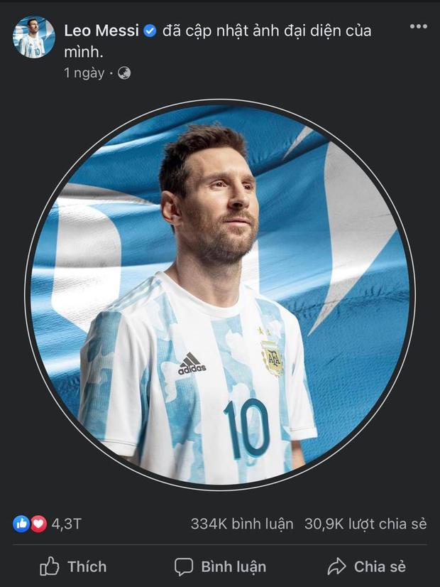 Messi chính thức vượt mặt cựu Tổng thống Obama, xác lập kỷ lục Guinness mới trên Facebook sau hơn 9 năm - Ảnh 2.