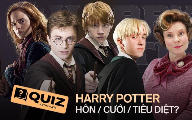 QUIZ: Thử chọn Hôn, Cưới hay... Tiêu diệt nhân vật Harry Potter để xem gu của bạn mặn đến mức nào so với mọi người nhé! - Ảnh 1.