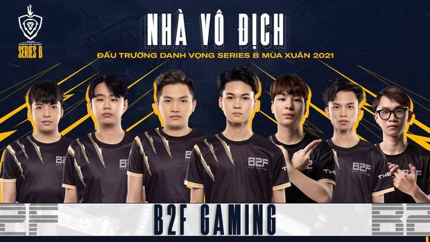 Chính thức: B2F Gaming vô địch ĐTDV Series B, nắm tay HEAVY trở lại giải đấu Liên Quân số 1 Việt Nam - Ảnh 4.