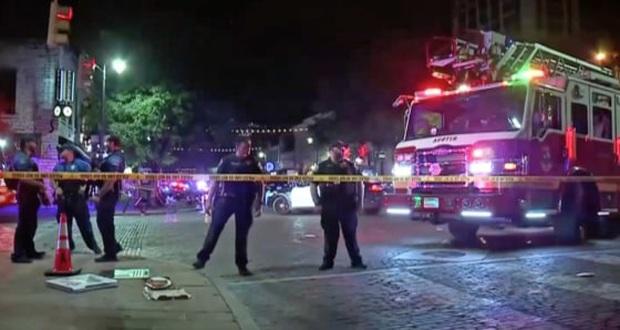 Xả súng ở thủ phủ bang Texas (Mỹ) khiến 14 người bị thương - Ảnh 1.