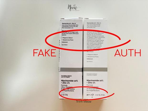 Khỏi dài dòng phức tạp, bạn cứ test nhanh 4 dấu hiệu sau là biết mình có mua phải serum The Ordinary giả hay không - Ảnh 2.