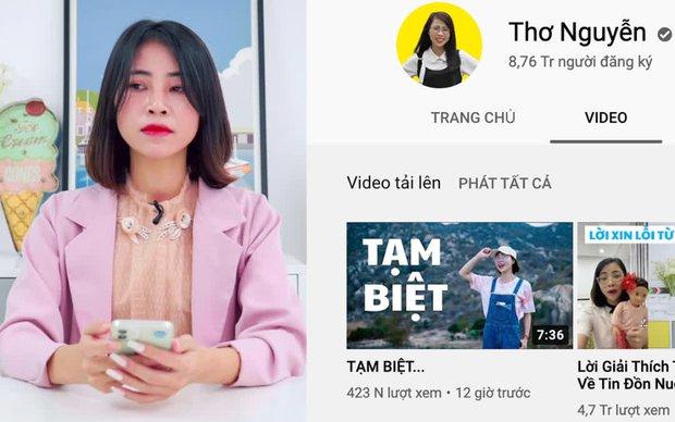 Bị tẩy chay, lên án kịch liệt, kênh YouTube mới của Thơ Nguyễn vẫn dễ dàng đạt nút Bạc chỉ sau 1 tuần - Ảnh 1.