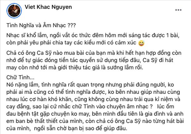 Nhạc sĩ Khắc Việt tuyên bố Hãy tình nghĩa với đúng người, Nguyễn Văn Chung - Hồ Hoài Anh có phản hồi ngay và luôn - Ảnh 1.