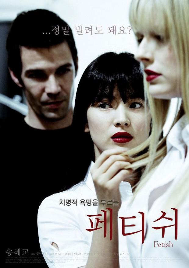 Song Hye Kyo từng có phim 18+ bị cấm chiếu vì cảnh nóng trần trụi, còn trở thành nạn nhân của clip sex - Ảnh 1.