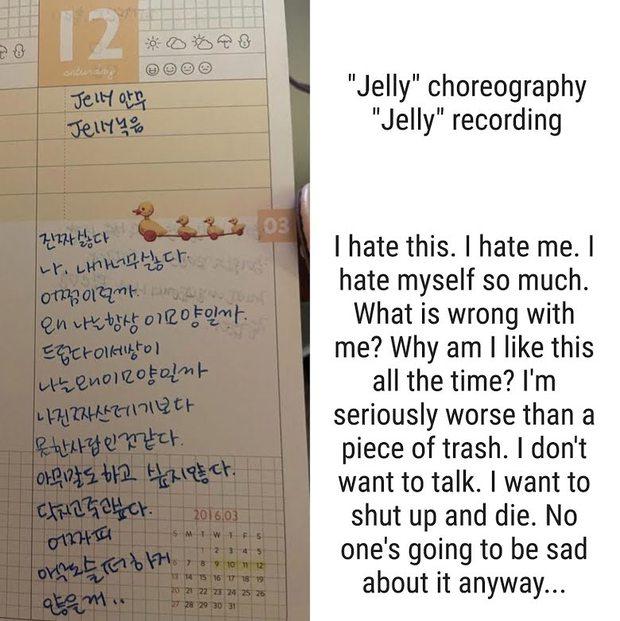 Biến Kbiz: Chị gái tung nhật ký chứng minh nữ thần Naeun không bắt nạt đồng đội nhóm April, ai ngờ hở ra chi tiết tự hủy - Ảnh 3.