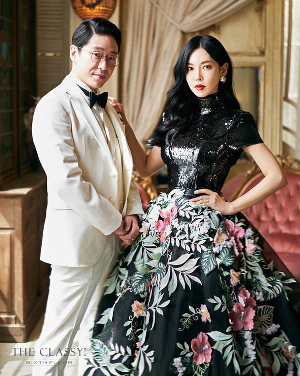 Cặp đôi mưu mô Penthouse tung ảnh cưới cực tình, Kim So Yeon đang kín bưng bỗng quay lại hở võng lưng trần sexy cháy mắt - Ảnh 3.