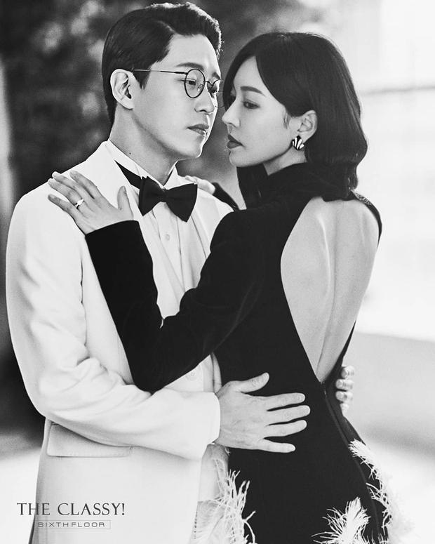 Cặp đôi mưu mô Penthouse tung ảnh cưới cực tình, Kim So Yeon đang kín bưng bỗng quay lại hở võng lưng trần sexy cháy mắt - Ảnh 5.