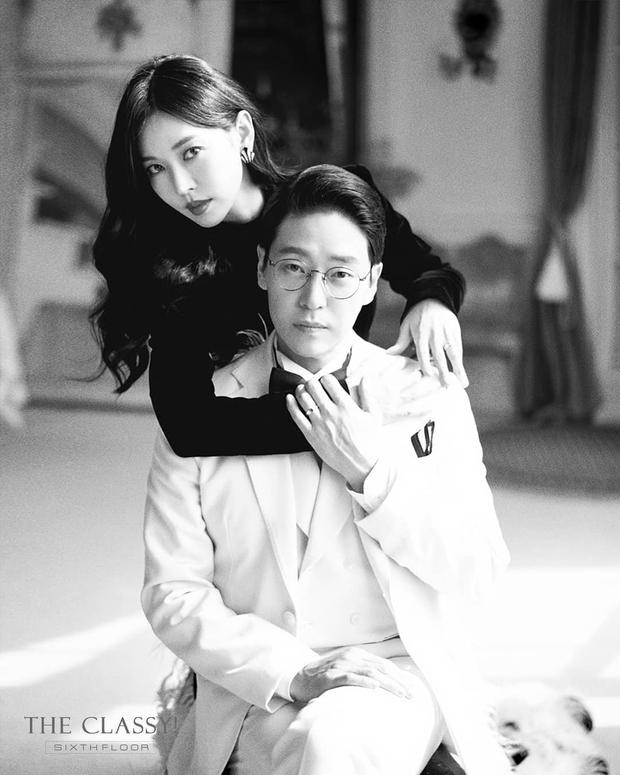 Cặp đôi mưu mô Penthouse tung ảnh cưới cực tình, Kim So Yeon đang kín bưng bỗng quay lại hở võng lưng trần sexy cháy mắt - Ảnh 8.