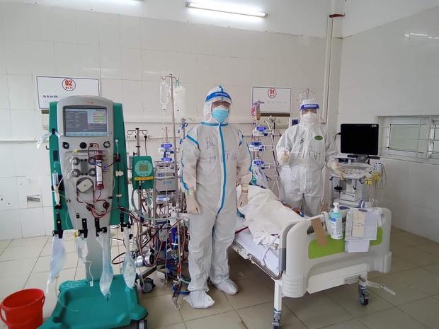 Bắc Giang: Nữ bệnh nhân trẻ mắc Covid-19 tiên lượng nặng, phải can thiệp ECMO - Ảnh 1.