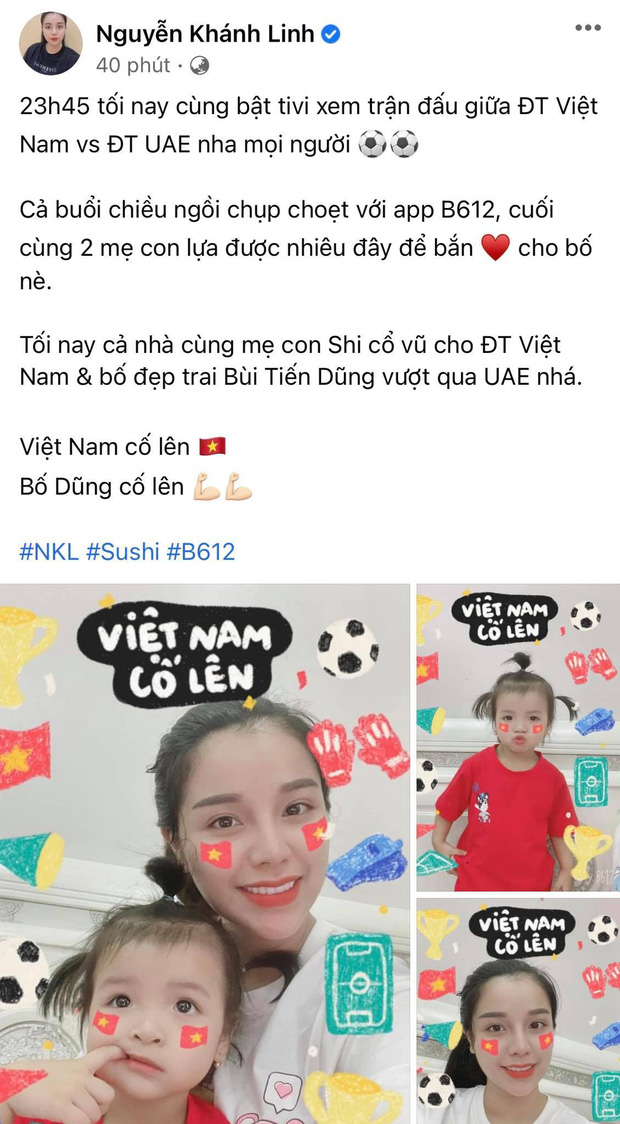 Sao Vbiz hừng hực hướng về trận tuyển Việt Nam đối đầu UAE: Tiểu Vy và dàn Hậu có màn dự đoán gây sốt, 1 mỹ nam hứa làm điều ý nghĩa! - Ảnh 14.