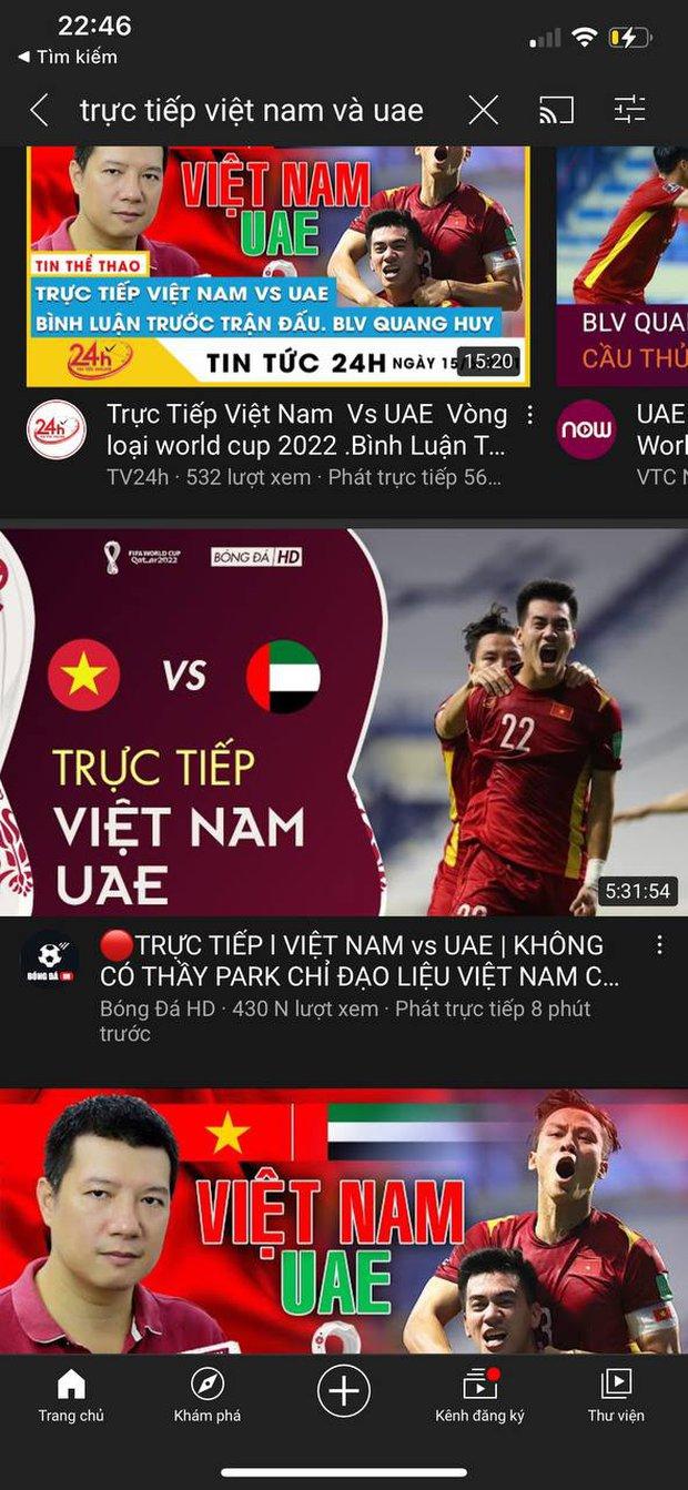 Ngay lúc này: Hơn 40.000 người bị lừa xem trận đấu Việt Nam - UAE từ hai năm trước - Ảnh 3.