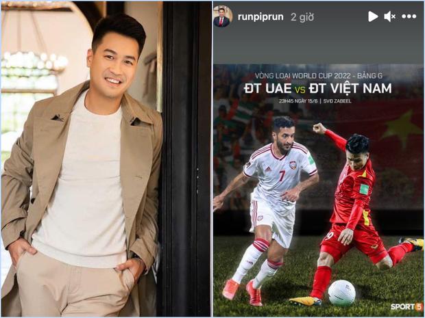Nửa đêm mới đá, sáng sớm đã thấy con trai tỷ phú, MC VTV lót dép countdown trận Việt Nam gặp UAE rồi! - Ảnh 2.