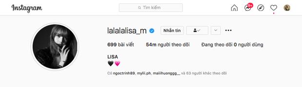 Lisa (BLACKPINK) trở thành idol Kpop đầu tiên cán mốc 54 triệu followers trên Instagram, xác lập luôn 4 kỷ lục - Ảnh 1.