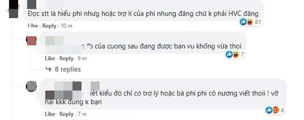 Netizen chỉ ra chi tiết Hồ Văn Cường đang mất quyền quản lý Facebook, réo gọi tên Phi Nhung và ekip mới là người chỉ đạo? - Ảnh 5.