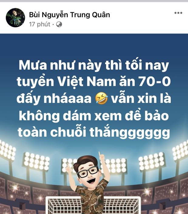 Sao Vbiz hừng hực hướng về trận tuyển Việt Nam đối đầu UAE: Tiểu Vy và dàn Hậu có màn dự đoán gây sốt, 1 mỹ nam hứa làm điều ý nghĩa! - Ảnh 17.