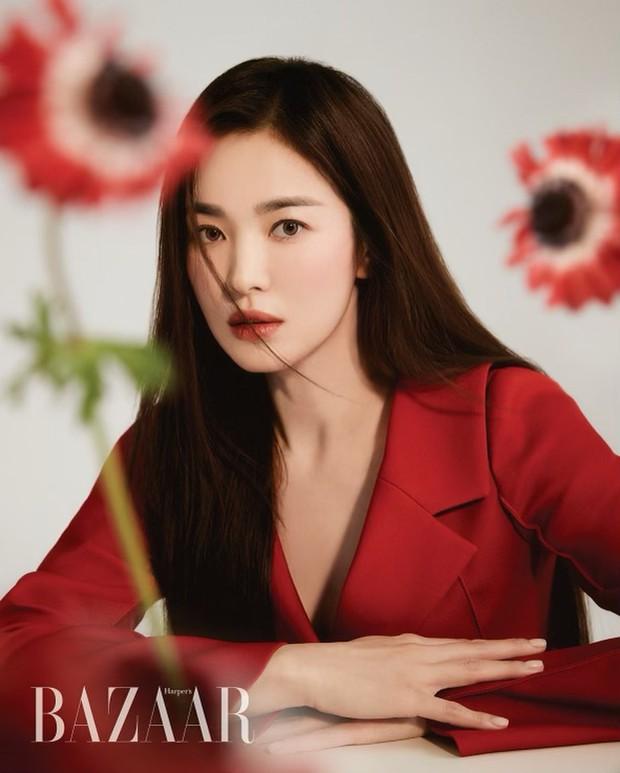 Hậu cung khủng toàn cực phẩm nam thần mê Song Hye Kyo: Huỳnh Hiểu Minh, Lee Min Ho, Suju và tài tử, idol Hàn - Trung có mặt - Ảnh 2.