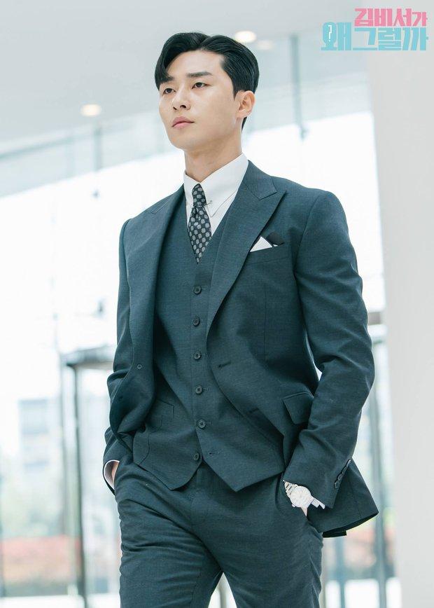 Park Seo Joon - tài tử cực phẩm đầu tiên xứ Hàn gia nhập Marvel: Từ tổng tài đến ông hoàng sân bay, chân dài 6 múi mlem xịt máu mũi - Ảnh 4.