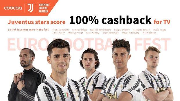 coocaa TV công bố hợp tác thương hiệu với Câu lạc bộ bóng đá hàng đầu thế giới Juventus để phát triển phạm vi toàn cầu - Ảnh 2.