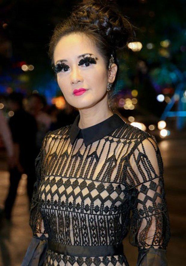 Thi thoảng nhìn lại ảnh cũ của sao Việt mà giật mình: Quá trời mỹ nhân makeup sợ phát khiếp - Ảnh 5.