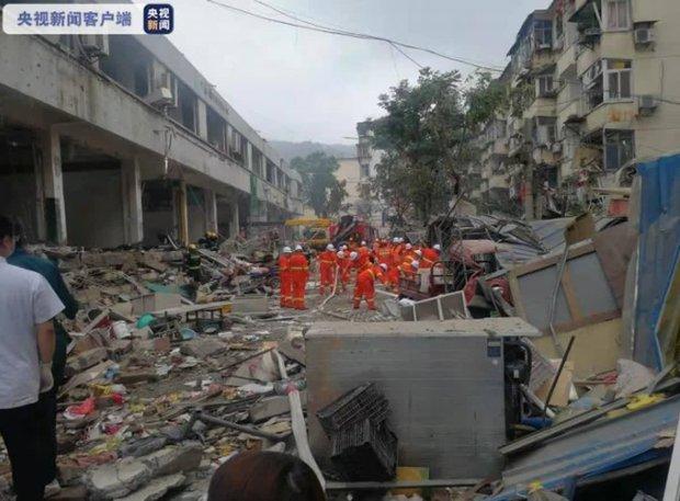 Số người chết trong vụ nổ tại Hồ Bắc (Trung Quốc) tăng lên 25 người - Ảnh 1.