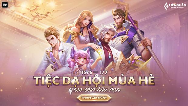 Game thủ Liên Quân Mobile được nhận miễn phí 8 skin trong sự kiện mới, cách thức nhận quà FREE cũng rất đơn giản - Ảnh 1.