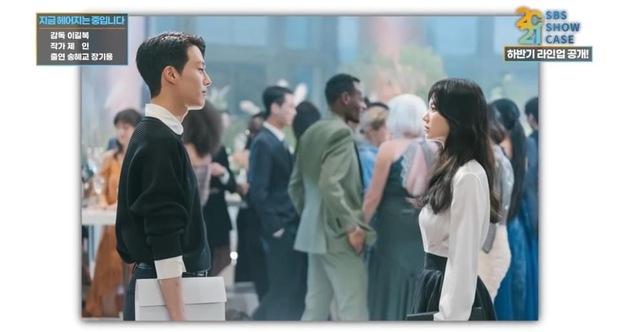 Lộ ảnh Song Hye Kyo đẹp lịm người bên cạnh Jang Ki Yong, anh chị mới nhìn nhau mà chemistry đã bùng nổ rồi - Ảnh 5.
