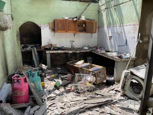Một thanh niên ở Yên Bái tử vong sau vụ nổ - Ảnh 1.