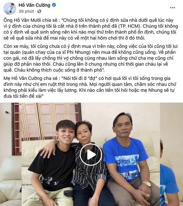 Netizen chỉ ra chi tiết Hồ Văn Cường đang mất quyền quản lý Facebook, réo gọi tên Phi Nhung và ekip mới là người chỉ đạo? - Ảnh 1.