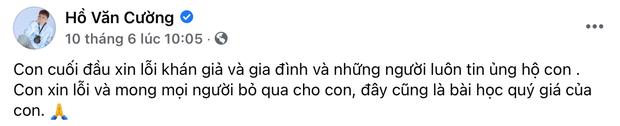 Netizen chỉ ra chi tiết Hồ Văn Cường đang mất quyền quản lý Facebook, réo gọi tên Phi Nhung và ekip mới là người chỉ đạo? - Ảnh 3.