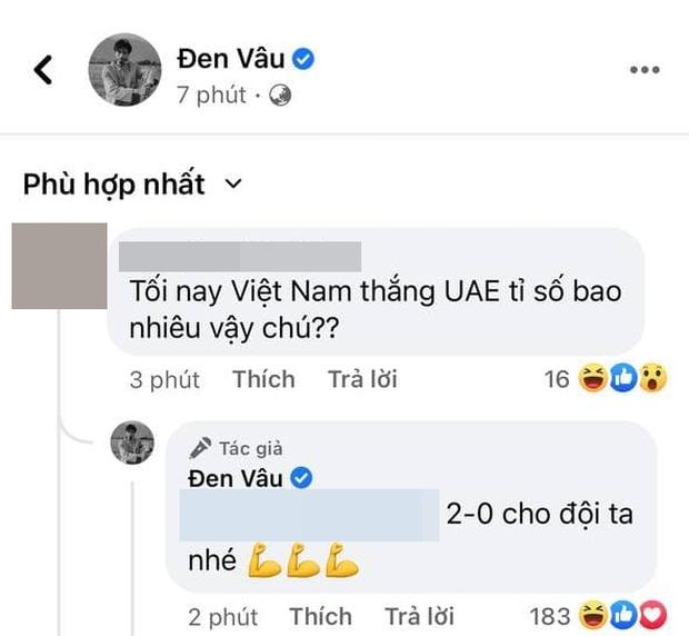 Thánh tiên tri Đen Vâu bị dân mạng tràn vào đòi dự báo bóng đá, phán kết quả Việt Nam - UAE ra sao? - Ảnh 2.