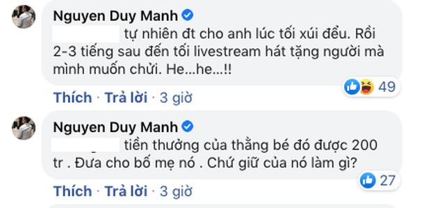 Duy Mạnh tiếp tục khẳng định bị Phi Nhung gài, ẩn ý bố mẹ Hồ Văn Cường bị dẫn dắt - Ảnh 4.