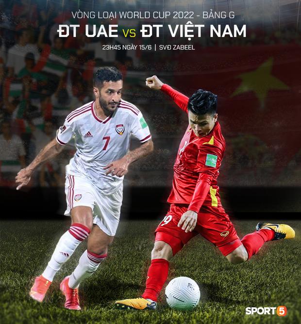Nửa đêm mới đá, sáng sớm đã thấy con trai tỷ phú, MC VTV lót dép countdown trận Việt Nam gặp UAE rồi! - Ảnh 1.