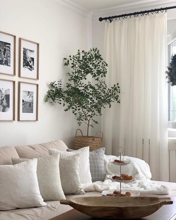 4 lý do nên chọn rèm cửa màu trắng: Ai không phải mệnh Kim cũng dễ bị thuyết phục bởi 3 điều - Ảnh 7.