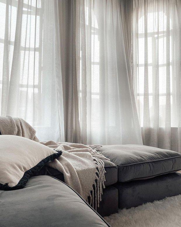 4 lý do nên chọn rèm cửa màu trắng: Ai không phải mệnh Kim cũng dễ bị thuyết phục bởi 3 điều - Ảnh 4.