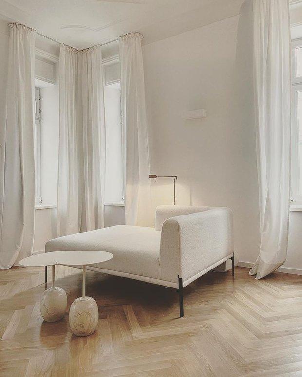 4 lý do nên chọn rèm cửa màu trắng: Ai không phải mệnh Kim cũng dễ bị thuyết phục bởi 3 điều - Ảnh 5.