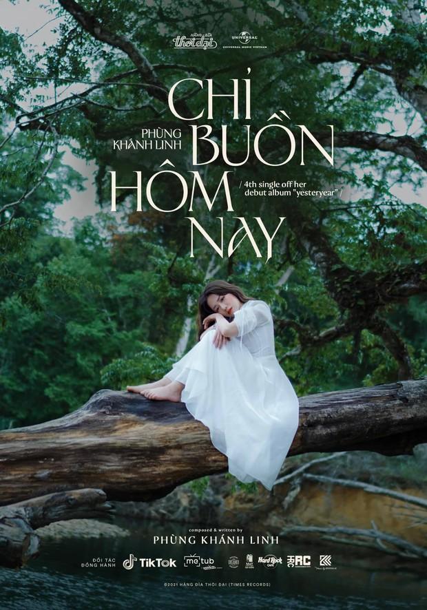 Phùng Khánh Linh ra mắt MV Chỉ Buồn Hôm Nay, từ tên đến giai điệu nghe na ná Hôm Nay Tôi Buồn ra mắt 3 năm trước? - Ảnh 1.