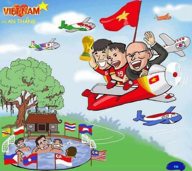 Sau trận đấu UAE - Việt Nam, cộng đồng mạng lại đua nhau chế meme cực hài hước, nhưng sao tâm điểm lại là âm nhạc? - Ảnh 8.