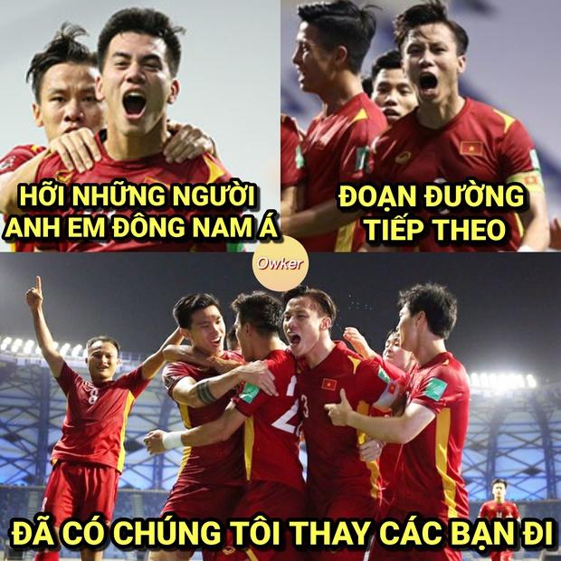 Sau trận đấu UAE - Việt Nam, cộng đồng mạng lại đua nhau chế meme cực hài hước, nhưng sao tâm điểm lại là âm nhạc? - Ảnh 2.