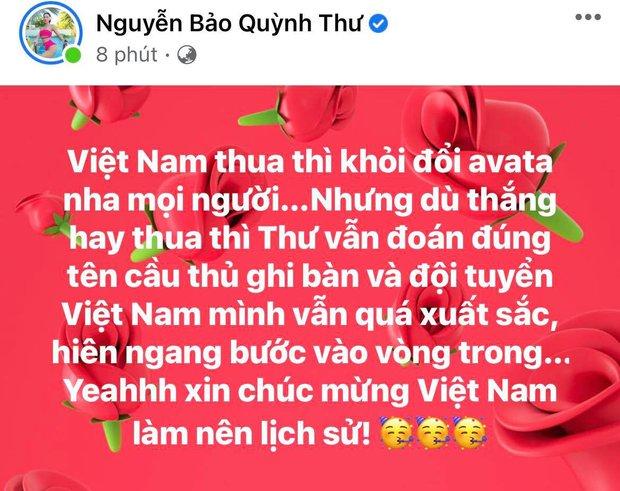 2h sáng dàn sao Việt vẫn xem đến phút cuối, vỡ oà vì kết quả của tuyển Việt Nam: Chúng ta thua 1 trận đấu nhưng làm nên lịch sử! - Ảnh 9.