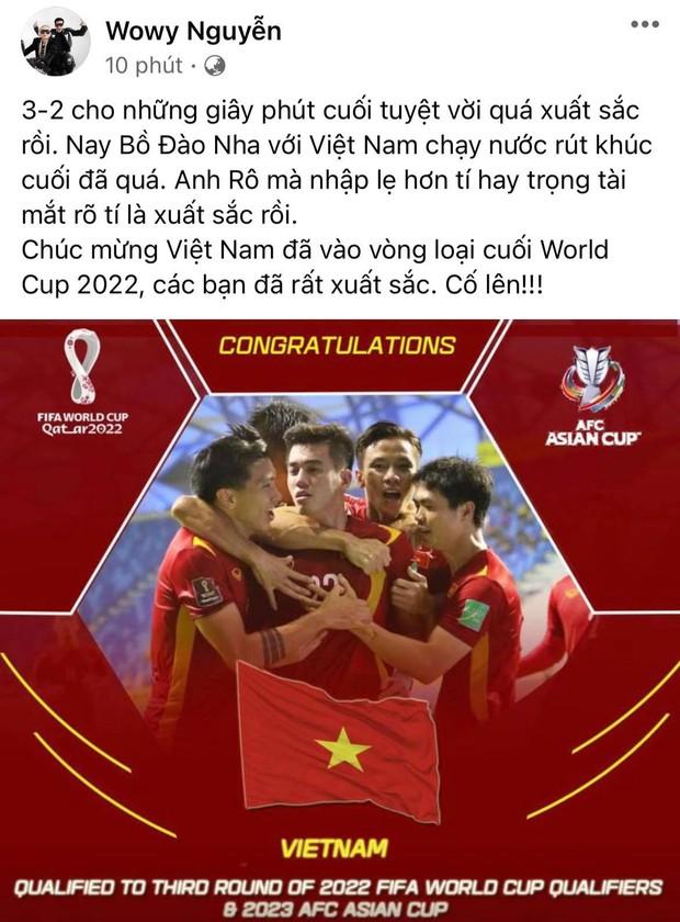 2h sáng dàn sao Việt vẫn xem đến phút cuối, vỡ oà vì kết quả của tuyển Việt Nam: Chúng ta thua 1 trận đấu nhưng làm nên lịch sử! - Ảnh 19.