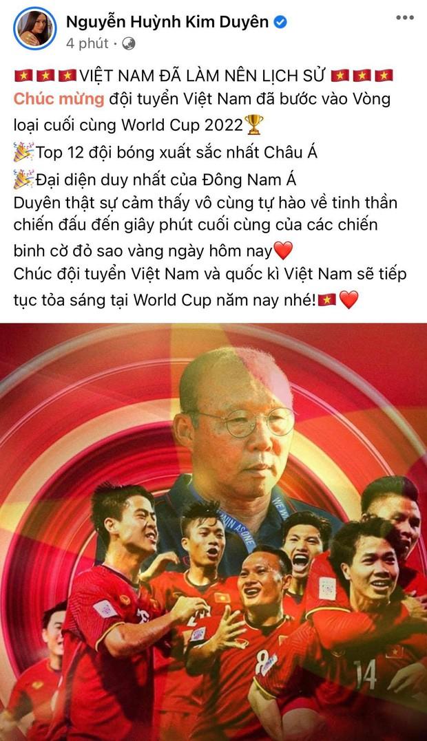 2h sáng dàn sao Việt vẫn xem đến phút cuối, vỡ oà vì kết quả của tuyển Việt Nam: Chúng ta thua 1 trận đấu nhưng làm nên lịch sử! - Ảnh 3.