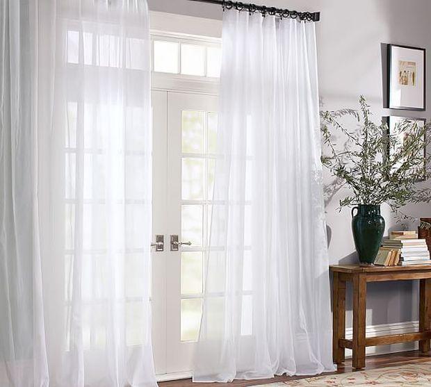 4 lý do nên chọn rèm cửa màu trắng: Ai không phải mệnh Kim cũng dễ bị thuyết phục bởi 3 điều - Ảnh 10.