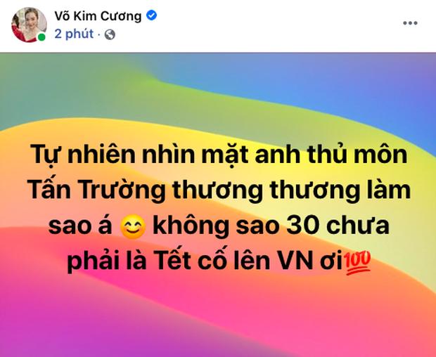 90 phút cảm xúc lên xuống của sao Việt khi xem Việt Nam - UAE: Hiệp 1 lo lắng động viên, hiệp 2 hồi hộp đến vỡ oà vui sướng! - Ảnh 4.