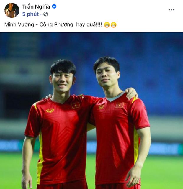90 phút cảm xúc lên xuống của sao Việt khi xem Việt Nam - UAE: Hiệp 1 lo lắng động viên, hiệp 2 hồi hộp đến vỡ oà vui sướng! - Ảnh 10.
