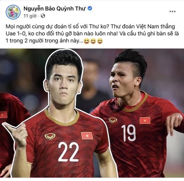 Quỳnh Thư lên tiếng khi bị đồn hẹn hò Tiến Linh, nam cầu thủ cũng có động thái đặc biệt gây chú ý! - Ảnh 2.