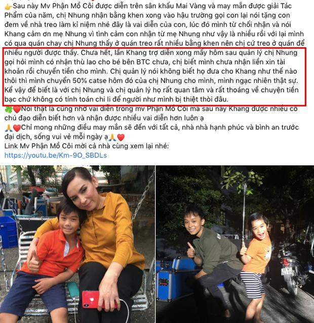"""Bố 1 diễn viên nhí """"bóc trần"""" con người thật của Phi Nhung khi làm việc, chi tiết liên quan Hồ Văn Cường và tiền cát xê gây chú ý - Ảnh 4."""